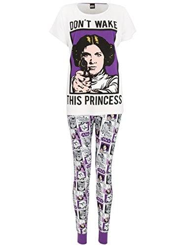 b537acd6b58c Star Wars - Pijama para mujer - Princesa Leia - XX-Large