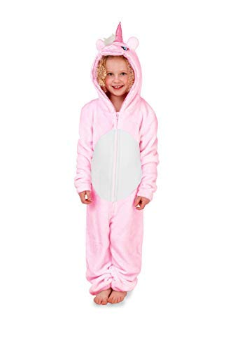 Christmas Onesies.Tween Size Age 13 14 Years Pink Unicorn Loungeable Kids Fleece Christmas Onesies Or Robe